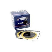 Remendo R04 Vipal P/ Camara De Ar 80mm C/40 Unidades