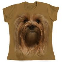 Camiseta Baby Look Mr Pet Yorkshire - Tam G