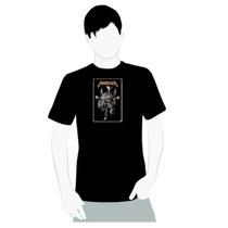 Camisa 100% Algodão - Metallica Skull