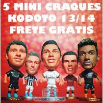 Lk+ 5 Mini Craques Kodoto Variados 2013/2014 + Frete Grátis