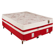 Conjunto Casal Colchao E Box Agility Molas Ensaca 158x198x73