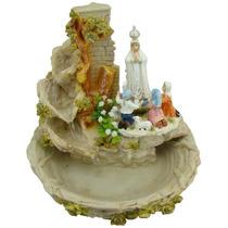 Nossa Senhora De Fátima - Fonte De Água - Imagem Religiosa