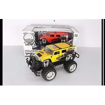 Jeep Hummer Carrinho Controle Remoto 1:14 Rc Suv Pick Up Mp3