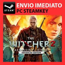 The Witcher 2 + Bônus! Jogo Digital Steam Key Pc 3 Gta V 5