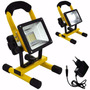 Refletor Led Recarregavel 30w Bateria Portatil 24 Led