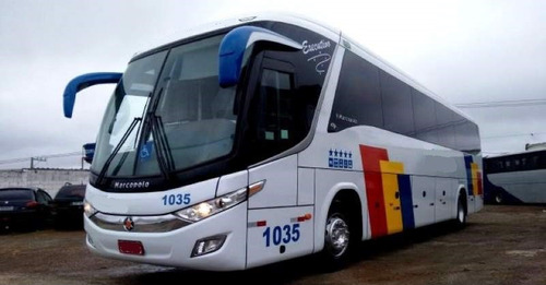 ÔNIBUS PARADISO 1050 G7 EXECUTIVO COMPLETO SEMINOVO VOLVO B9