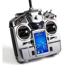 Radio Turnigy Tgy-i10 10ch 2.4ghz Touch Screen + Telemetria