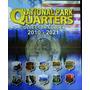 Álbum Moeda Eua Park Quarter Dolar 2010 A 2021 0,25 Cents