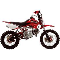 Mini Moto Tr 100f 100cc Vermelha Pro Tork