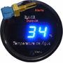 Medidor Temperatura Da Água Digital Racetronix Led Azul 52mm