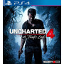 Uncharted 4 Dublado Ps4 Mídia Digital Primaria Com Garantia