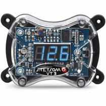 Voltímetro Digital Ajk Sound Com Remote Control Vt3 Original