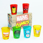 Cj Shot Marvel Avengers Vingadores Hulk Ferro Aranha Thor