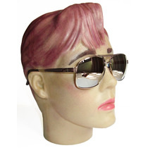 Oculos Cromado Lente Croma Espelhada Importado Design Italy