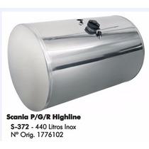 Tanque De Combustível Inox Scania 440 Litros