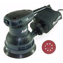 Lixadeira Rotorbital Roto Orbital Makita Mbo500 127v 240watt
