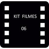 Filmes Kit 06 - Pague R$ 9,97 Por Filme
