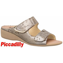 20% Off Tamanco Anabela Piccadilly Conforto Joanete 416007