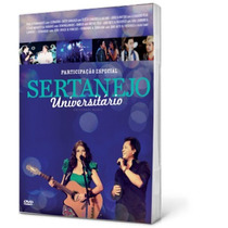 Kit Participação Especial Sertanejo Univers [dvd+cd] Frete