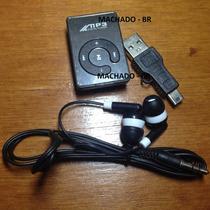 Mp3 Player Clipe - 8gb - Academia Corrida Caminhada Música