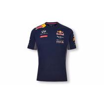 Camisa Oficial Masculina Formula 1 F1 Red Bull Infiniti Nova