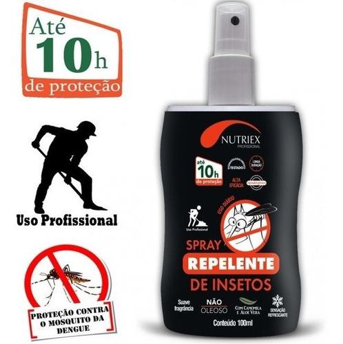 Repelente 10hrs Profisional Spray 100ml Nutriex
