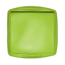 Forma De Silicone Quadrada Para Bolo E Torta Lasanha 26x25
