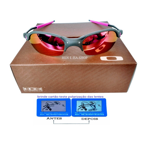 a4e2ff13b Oculos Oakley Romeo 2 Rosa +teste+certificado à venda em Centro ...