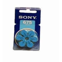 Bateria Aparelho Ouvido Sony Original 675 Pr44 - 6 Unidades