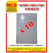 10 Quebra Cabeça Para Sublimação A4 Com 120 Peças