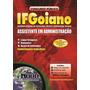 produto Apostila Assistente Em Administracao - Ifs/go