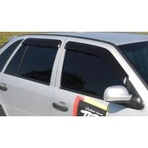 Calha P/ Carro Defletor Gol/parati G2,g3,g4 98/14 4p Tg Poli