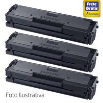 Kit 03 Toner Samsung D111 Mlt-d111 Compatível M2020w M2070fw