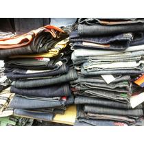 Calça Masculina Jeans Kit Com 03 Peças Várias Marcas