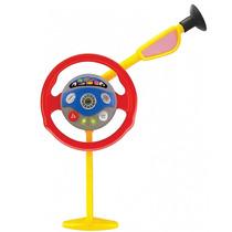 Direção Volante Brinquedo Auto Som Motor Buzina Luz Bel 4876