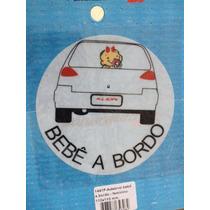 Adesivo Infantil Bebê A Bordo Menina Hyundai Kia Bmw Volvo