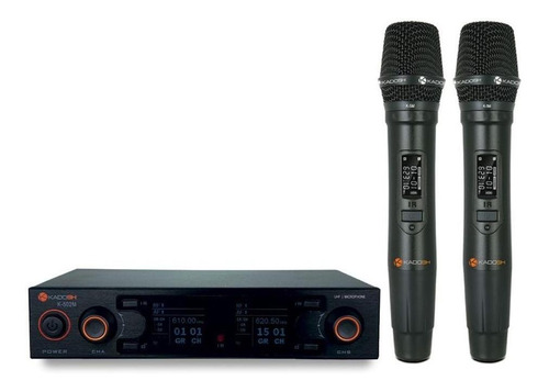 Kit De Microfones Kadosh K-502m Dinâmico