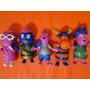05 Bonecos Backyardigans Nickelodeon  De  12   Cm  Altura