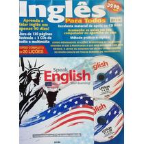 Inglês Para Todos Speak English Curso Livro + 2 Cds Escala