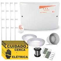 Kit Cerca Elétrica C/ Setor De Alarme P/ Até 70 Mts + Brinde