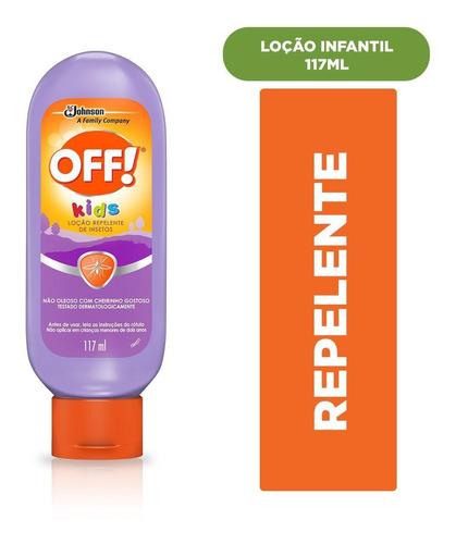 Repelente Off Kids Loção 117 Ml