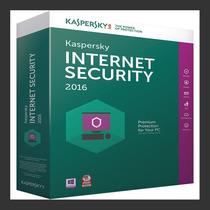 Kaspersky Internet Securitty 2016 - 1 Pc 1 Ano - Lançamento!