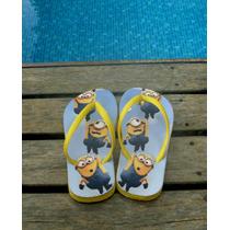 Chinelo Minions (personalizados)