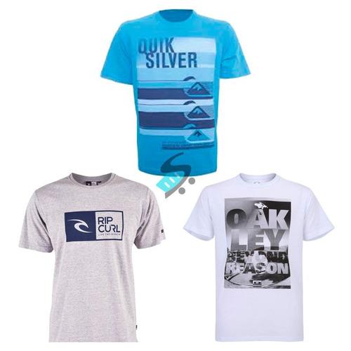 Kit 10 Camisa Camiseta Masculina Estampada De Marca Atacado. R  127.9 24a7e56230d0d