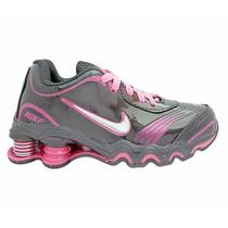 Tênis Para Criança Nike Shox Turbo Preto E Rosa