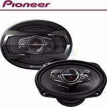 Par De Auto Falante 69 Pioneer Ts-a6995s 6x9 Pnt 5 Vias 600w