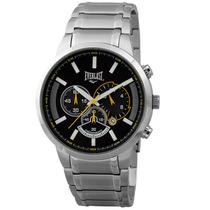 Relógio Masculino Everlast Cronógrafo, Pulseira Aço, E501