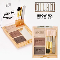 Kit Sobrancelha Brow Fix - Milani.