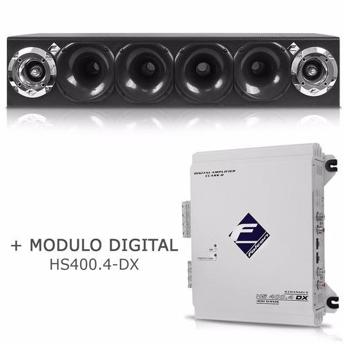 Caixa Corneteira Falcon Cxc - 4x2 + Módulo Digital Hs400.4 Dx