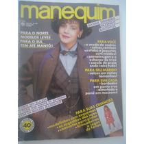 Manequim #295 Ano 1984 Fabiana Scaransi - Explicações E Mold